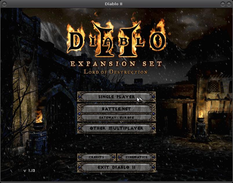 diablo 2 expansion patch 1.13d