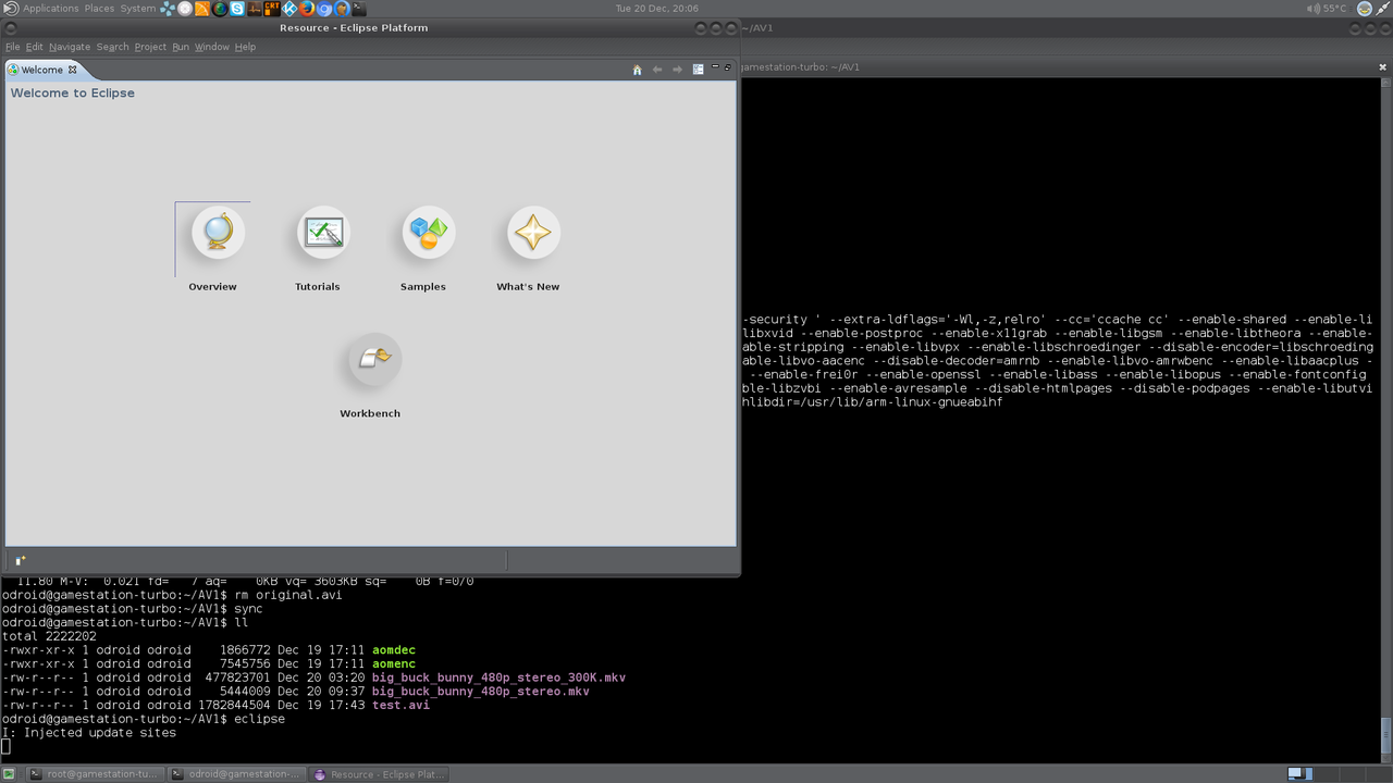 Installing Ecilpse IDE on XU4 - ODROID