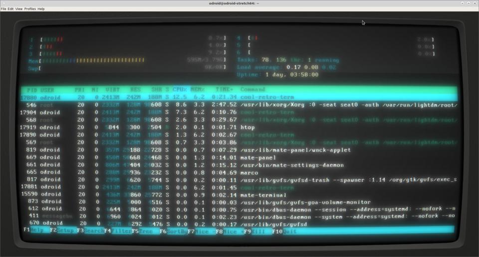 OS] Debian Stretch WIP - ODROID