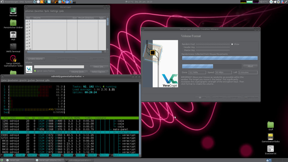 ODROID • View topic - [TOOLS] VeraCrypt