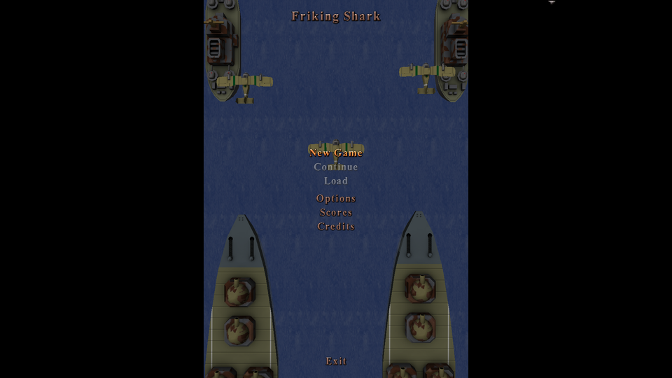 ODROID • View topic - [GAMES] Friking Shark (libGL)
