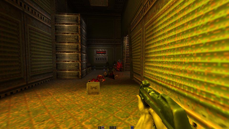 GAMES] yquake2 - Quake2 OpenGL remake (libGL) - ODROID